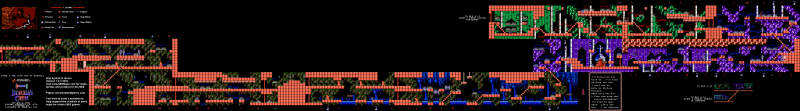 File:Castlevania III - Dracula's Curse - NES - Map - 5-1 - The Lost Son of Dracula.png