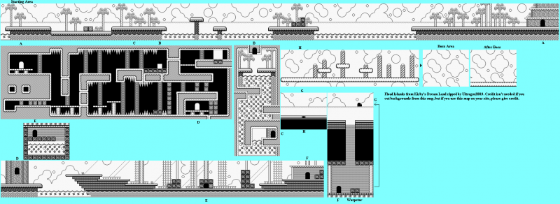 File:Kirby's Dream Land - GB - Map - Stage 3 - Float Islands.png