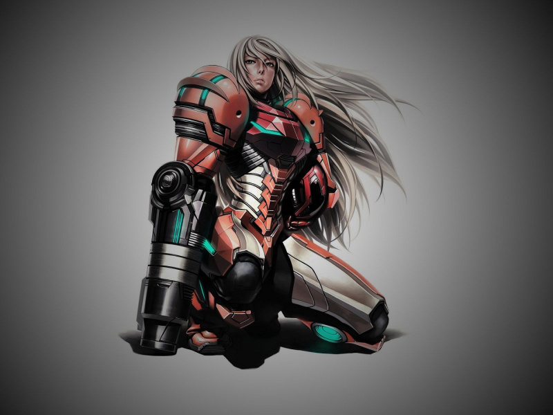 File:Metroid - Fan Art - Samus Armor.jpg