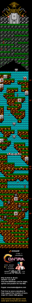 File:Contra - NES - Map - 3 - Waterfall.png