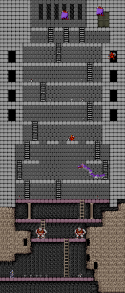 File:Ghosts 'N Goblins - ARC - Map - Stage 6.png