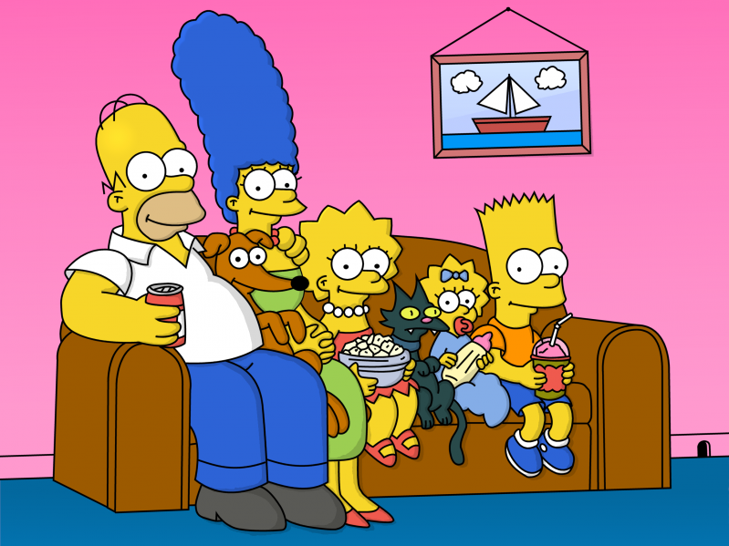 File:Simpsons - Family.png