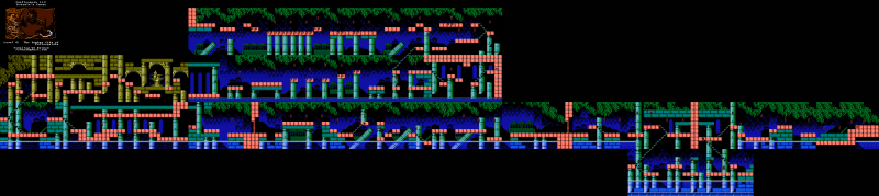 File:Castlevania III - Dracula's Curse - NES - Map - 6-2 - Sunken City of Poltergeists.png