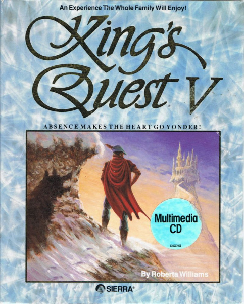 File:King's Quest V - Absence Makes the Heart Go Yonder! - DOS - USA - CD-ROM.jpg