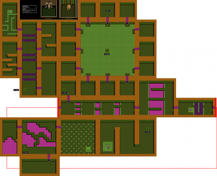 File:Blaster Master - NES - Map - Area 8 - Interiors.png