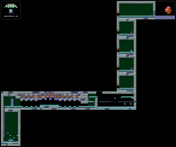 File:Mega Man - NES - Map - Dr. Wily 4.png