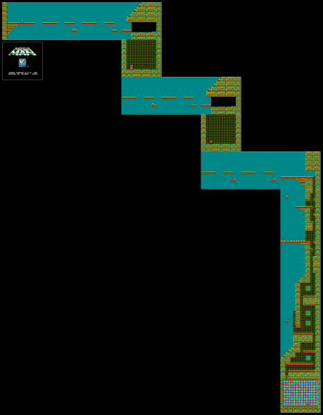 File:Mega Man - NES - Map - Dr. Wily 2.png