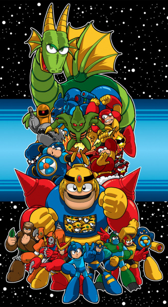 File:Mega Man II - Fan Art.jpg