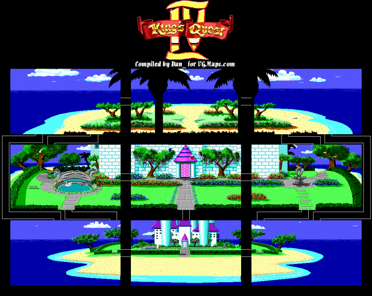 File:King's Quest IV - DOS - Map - Genesta's Island - Day.png