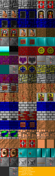 File:Wolfenstein 3D - DOS - Graphics - Walls.png