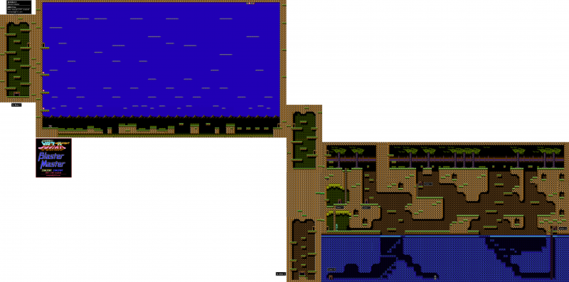 File:Blaster Master - NES - Map - Area 1.png