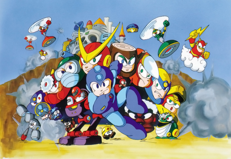 File:Mega Man II - Enemies.png