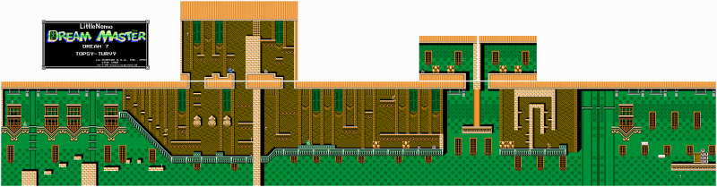 File:Little Nemo - The Dream Master - NES - Map - 7 - Topsy-Turvy.png