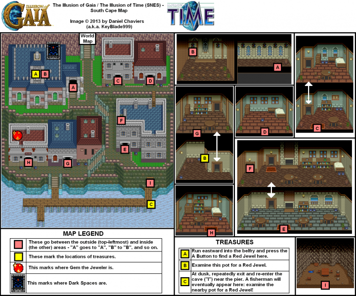 File:Illusion of Gaia - SNES - Map - South Cape (Spoilers).png