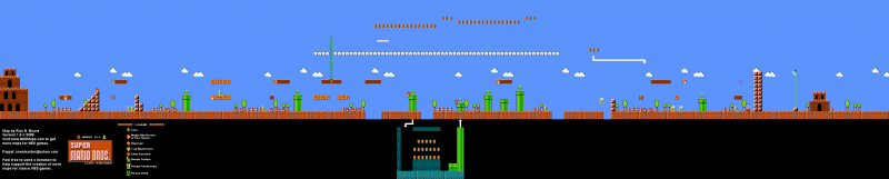 File:Super Mario Bros. - Map 2-1.png