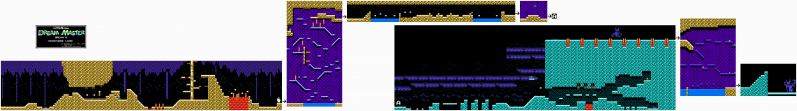 File:Little Nemo - The Dream Master - NES - Map - 8 - Nightmare Land.png
