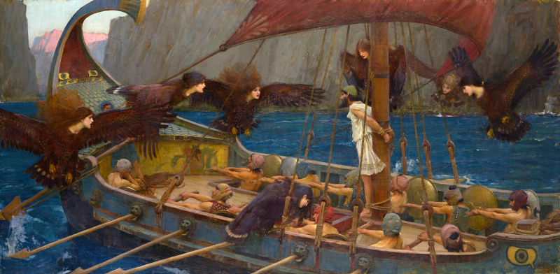 File:John William Waterhouse - 1891 - Ulysses and the Sirens.jpg