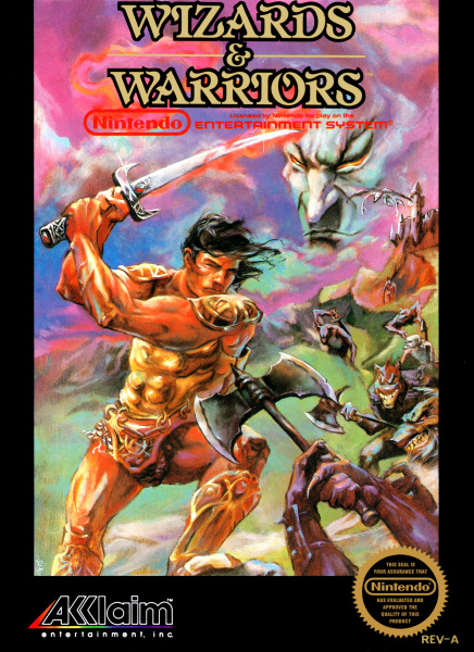 File:Wizards & Warriors - NES - USA.jpg