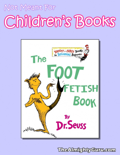 File:Not Meant For Children's Books - Foot Fetish Book, The.jpg