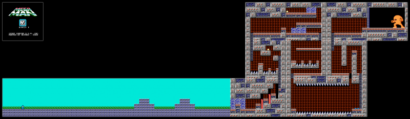 File:Mega Man - NES - Map - Dr. Wily 1.png