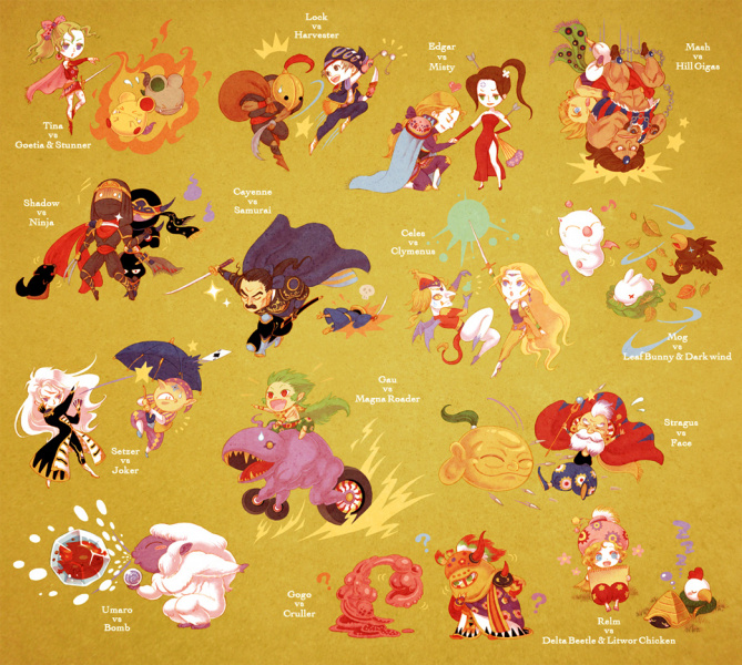 File:Final Fantasy VI - Characters and Monsters.jpg