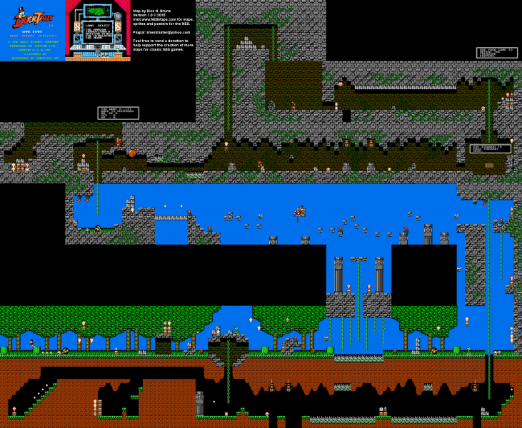 File:DuckTales - NES - Map - The Amazon.png