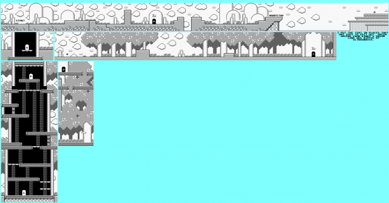 File:Kirby's Dream Land - GB - Map - Stage 1 - Green Greens.png