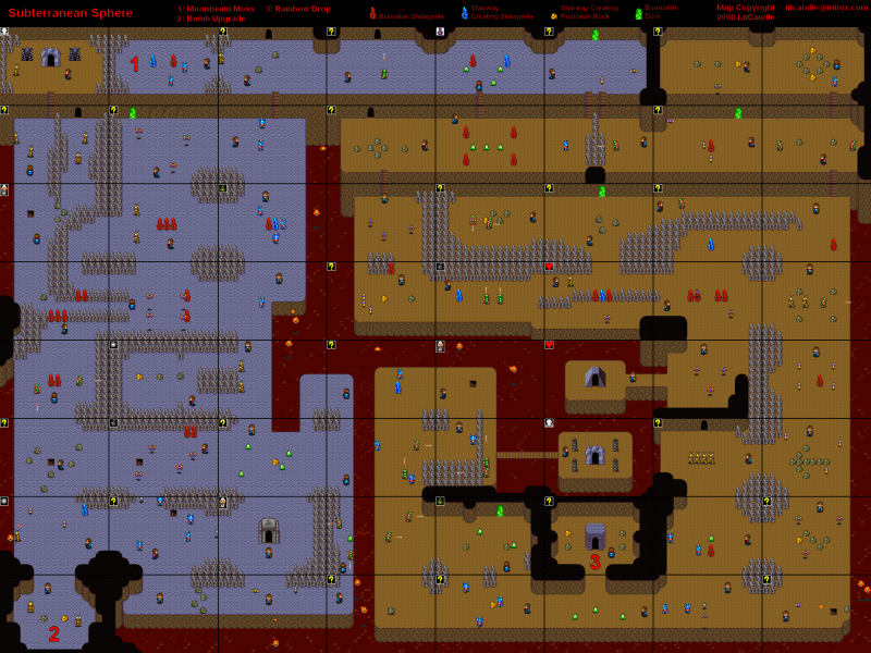 File:Neutopia - TG16 - Map - 2.1 - Subterranean Sphere.png