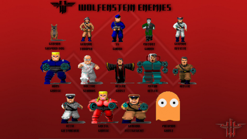 File:Wolfenstein 3D - DOS - Enemies Wallpaper.jpg