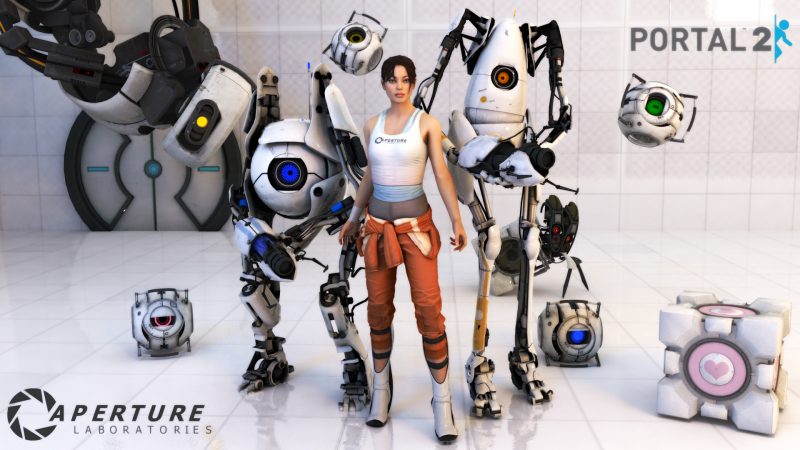 File:Portal 2 - Wallpaper 1.png