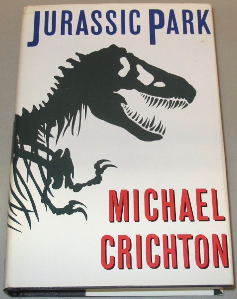 File:Jurassic Park - Hardcover - USA - 1st Edition.jpg