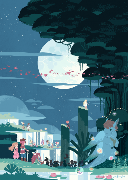 File:Secret of Mana - SNES - Fan Art - Hans Tseng.png