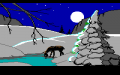 Computer Christmas, A - Screenshot - PCjr - Deer.png