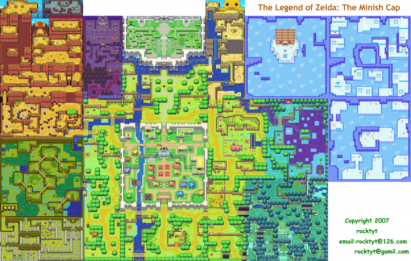 File:Legend of Zelda, The - Minish Cap, The - GBA - Map - Hyrule.png