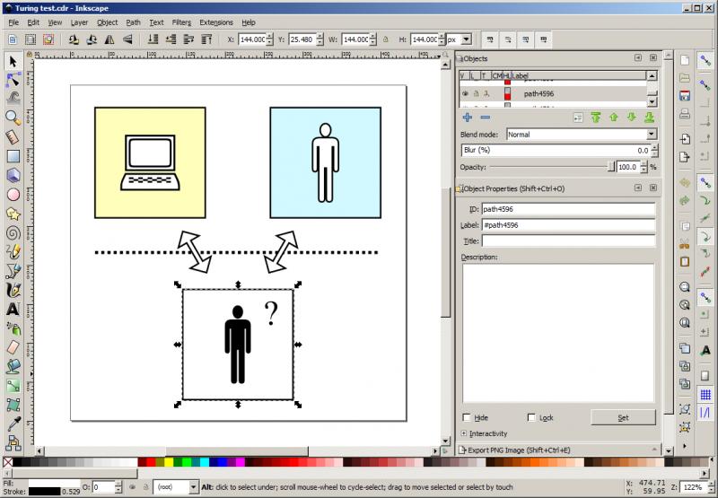 File:Inkscape - Screenshot - Editor.png