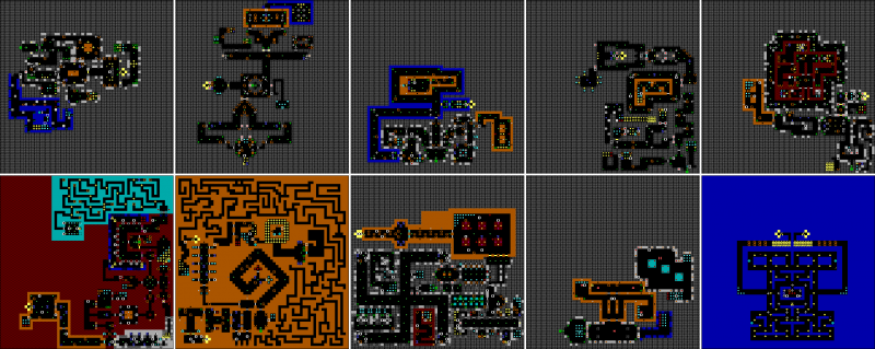 File:Wolfenstein 3D - DOS - Map - Episode 3.png