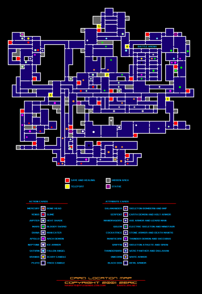 File:Castlevania - Circle of the Moon - GBA - Map - Cards.png