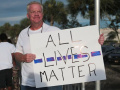 All Lives Matter - Hal Lacey counterprotests a Black Lives Matter rally on 2016-07-10 in Panama City, Florida.jpg