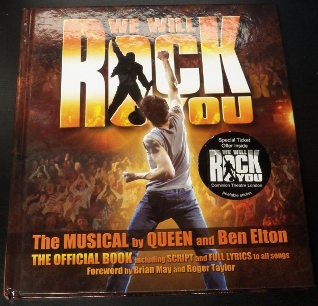 File:We Will Rock You - Hardcover - USA.jpg