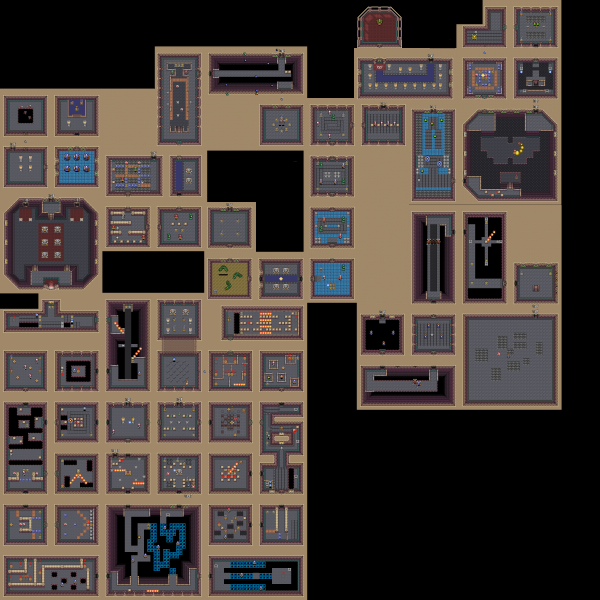 File:Legend of Zelda, The - Link to the Past, A - SNES - Map - 8 - Ganon's Tower.png