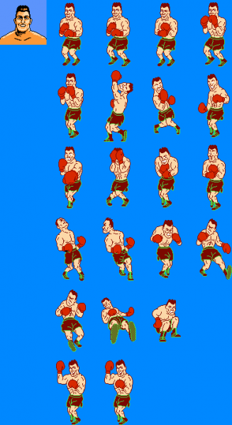 File:Mike Tyson's Punch-Out!! - NES - Sprites - Mr. Dream.png