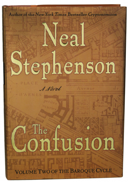 File:Confusion, The - Hardcover - US - 1st Edition.jpg