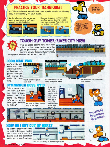 File:River City Ransom - NES - Nintendo Power, Page 46.jpg