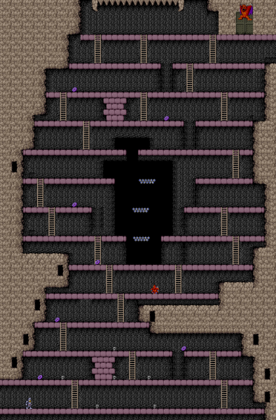File:Ghosts 'N Goblins - ARC - Map - Stage 5.png