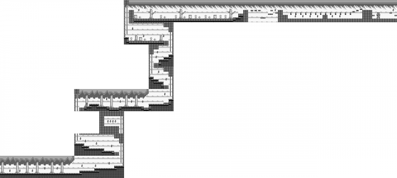 File:Castlevania - Adventure, The - GB - Map - Stage 1.png