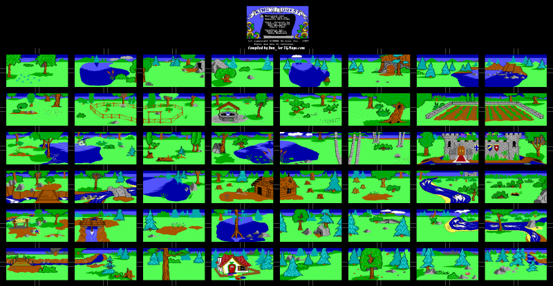 File:King's Quest - DOS - Map - Daventry.png