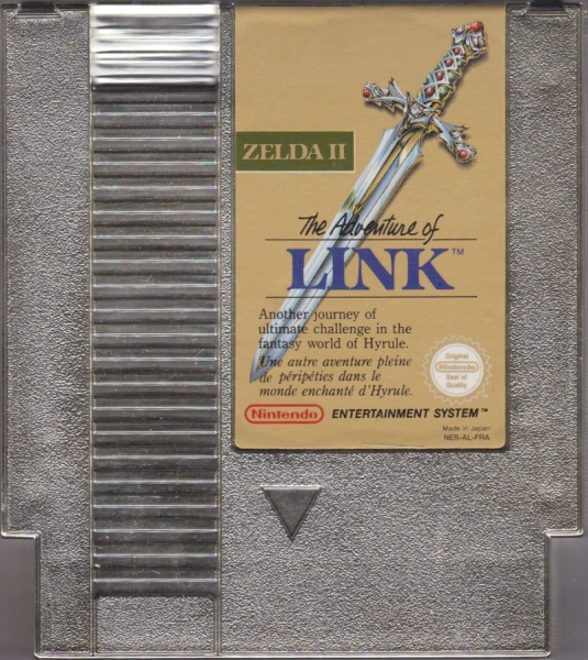 File:Legend of Zelda 2, The - Adventure of Link, The - NES - France - Cartridge.jpg