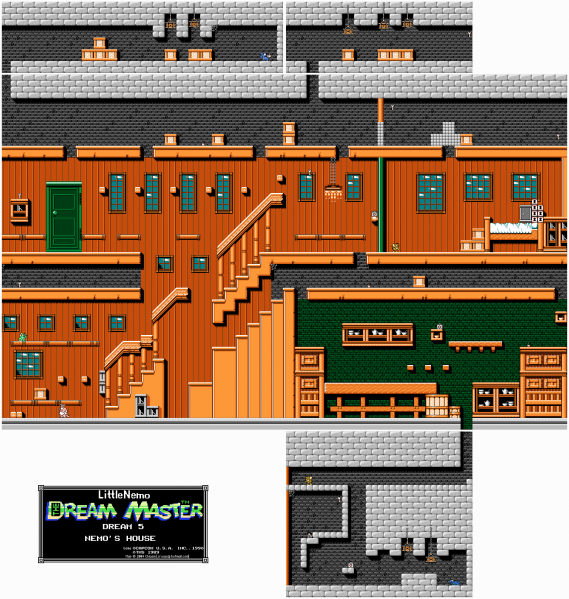 File:Little Nemo - The Dream Master - NES - Map - 5 - Nemo's House.png