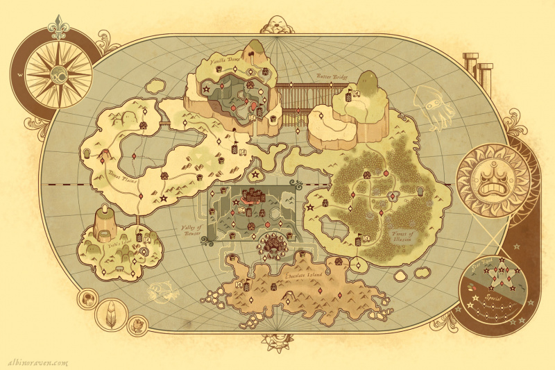 File:Super Mario World - Ancient Map.jpg