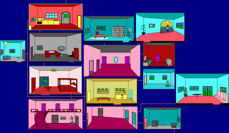 File:Hugo II - Whodunit - DOS - Map - Uncle Horace's Cottage.png